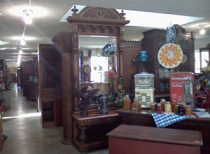Hershberger Antique Mall ... just a very small view of their HUGE selection of antiques. They carry some of the finest antique furniture around.